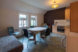 Küche in Monteurswohnung in Lilienthal