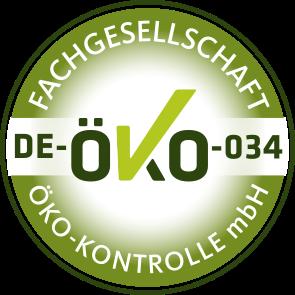 Zertifikat Fachgesellschaft-Öko-Kontrolle für Hof Eiche